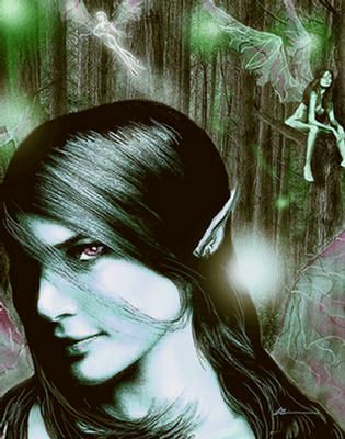 Elves are Mythological Creatures that Bring Good Luck