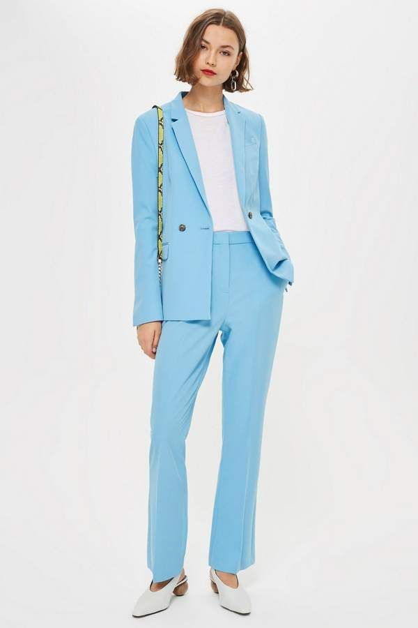 vivid and great in style top-rated authentic online Topshop PETITE Kick Flare Suit Trousers. Channel a retro ...