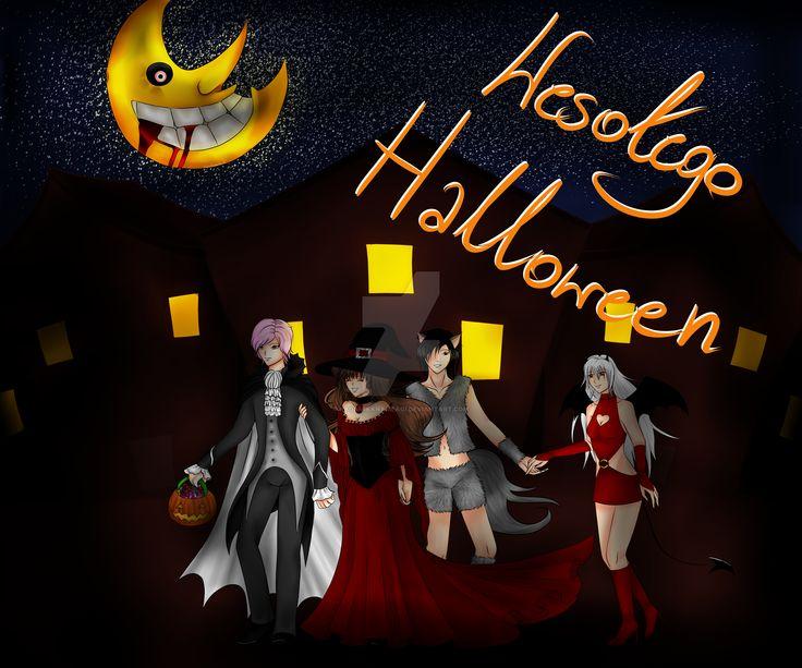 DC - Happy Halloween by KagamiKanameAoi