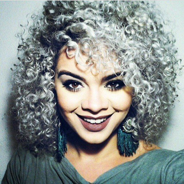 curly gray hair styles the grey hair trend is for summer 2015 hairstyles 8849