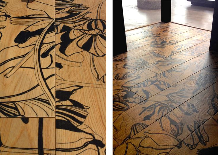 Tulip Floors for Xilo1934 · Milano 2014; design Roland Van Der Hilst