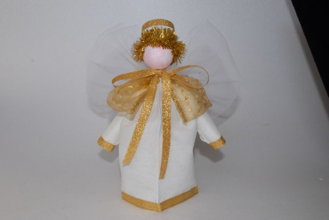 DSC_0208.jpg (640×428) Christmas Angel with tulle wings  Donatella Vassallo creation