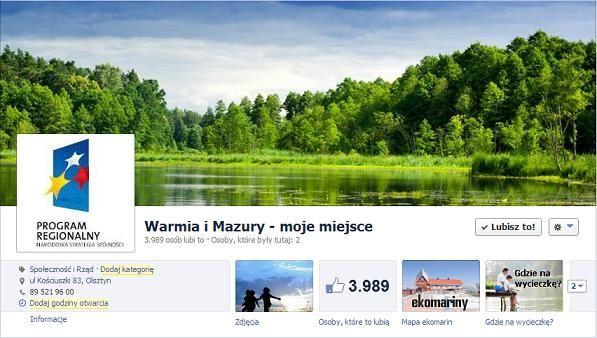 Warmia i Mazury - moje miejsce
