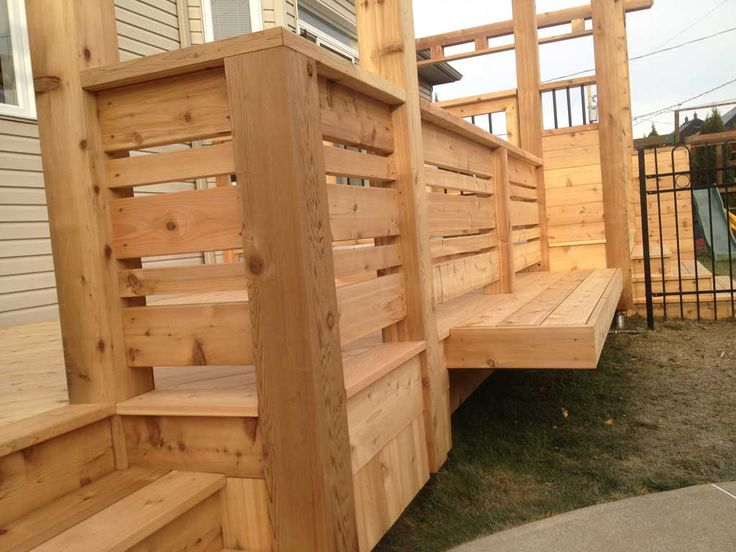 deck rampe metal et bois - Recherche Google