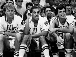 Celtics '85. For pops. : Larry Birds, Sports Life, Boston Celtic, Celtic Anyon, Dennis Johnson, 1980S Celtic, Celtic Team, Celtic 85, Basketb Stuff