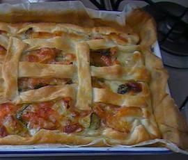 Ricetta CROSTATA ESTIVA DI ZUCCHINE E MOZZARELLA pubblicata da palmagiuliana79@gmail.com - Questa ricetta è nella categoria Prodotti da forno salati