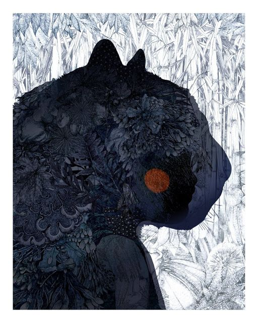 'The Jungle Book: Bagheera' by Lucille Clerc