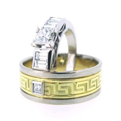 Jessica Helen: Wedding Rings Dennis & Samantha #australiangoldsmith #weddingring #bespokejewellery #gold #diamonds #jessichelenjewellery