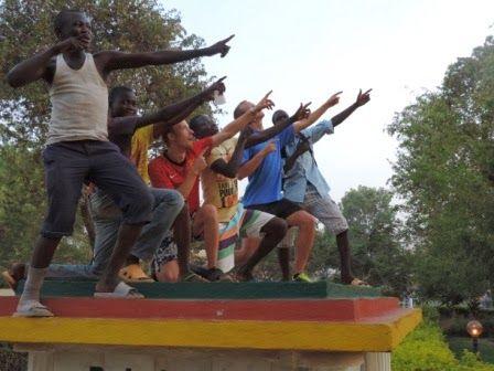 På tur i Cameroun