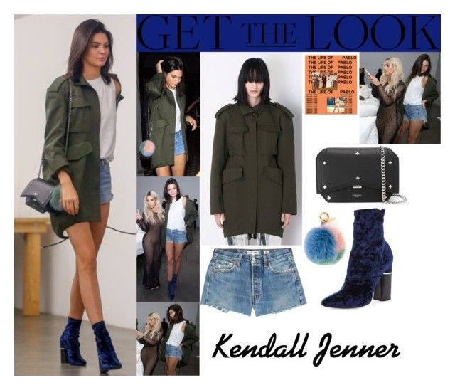 """Kendall Jenner With Kim Kardashian Kanye Wets Famous Art Exhibition August 26 2016"" by valenlss ❤ liked on Polyvore featuring 3.1 Phillip Lim, Balenciaga, Givenchy, RE/DONE and Fendi"
