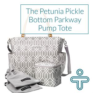 Petunia Pickle Bottom Parkway Pump Tote Bag