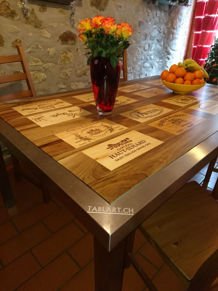 1000 Images About Wine Crate Tables On Pinterest Wooden
