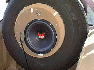 Mike created this custom installation in his Jeep Cherokee with gear from Crutchfield. #RockfordFosgate