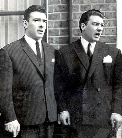 """""""They were the best years of our lives. They called them the swinging sixties. The Beatles and the Rolling Stones were rulers of pop music, Carnaby Street ruled the fashion world... and me and my brother ruled London. We were fucking untouchable."""" - Ronnie Kray in his autobiography Ronald """"Ronnie"""" Kray and Reginald """"Reggie"""" Kray were two British gangster brothers in the 1960s. MG ...."""