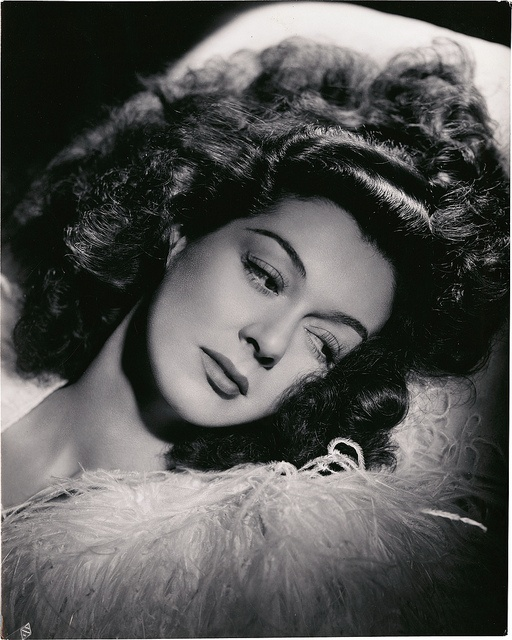 Portrait of Rosalind Russell by George Hurrell.