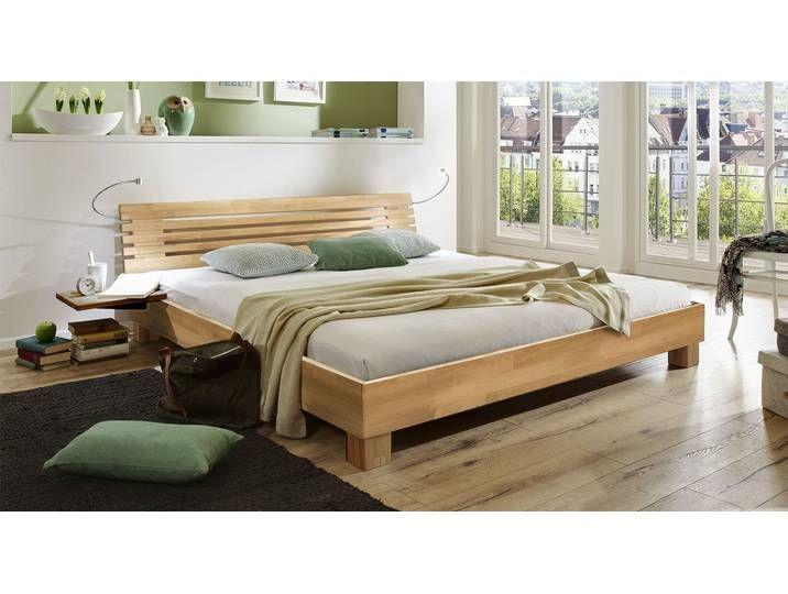 Doppelbett Aus Holz Marmore 200x220 Cm Buche Nussbaumfarben