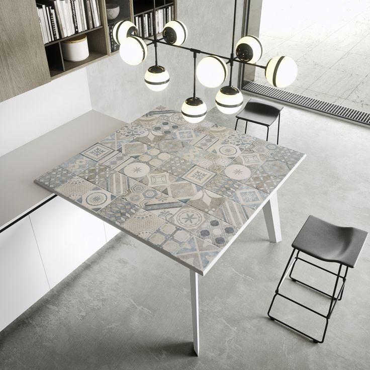 Mesa cocina integrada
