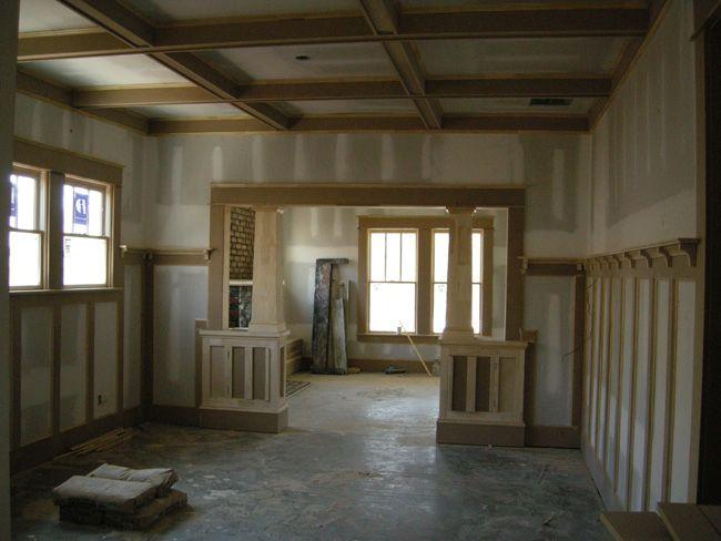 Best 25 craftsman trim ideas on pinterest craftsman for Craftsman interior trim