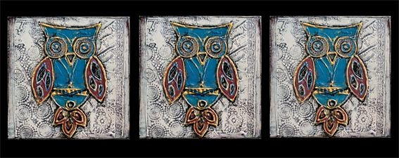 Painted Creation - Handpainted Owls