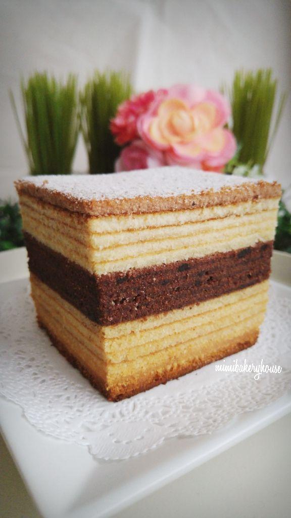 MiMi Bakery House: Chocolate Kue Lapis Legit (Spekkoek) [14 June 2015]