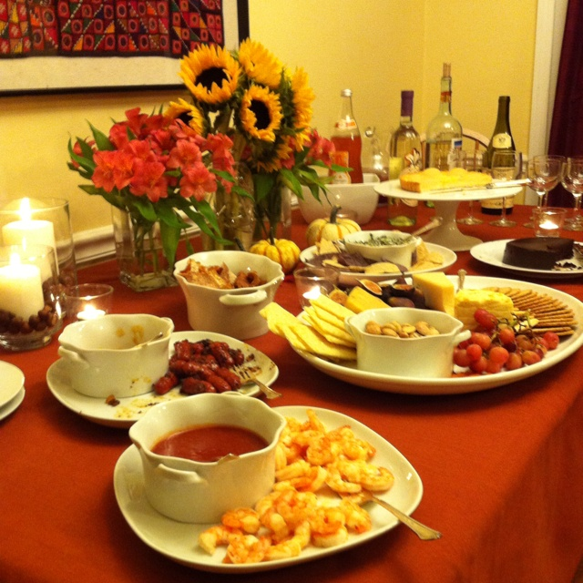 A Cocktail Party Part - 50: Perfect Fall Spread For A Cocktail Party With @Girlymamamel