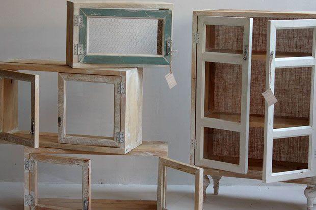 40 best creando piezas nicas images on pinterest - Muebles vintage reciclados ...