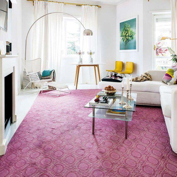 Violetas, morados, púrpuras… tienen un enorme impacto visual en la decoración.