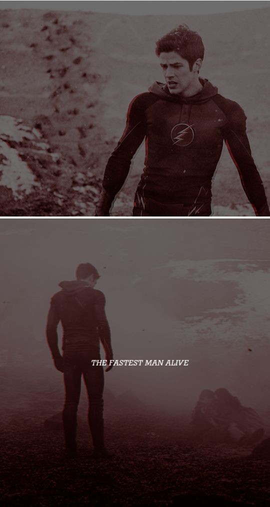 My name is Barry Allen and I'm the fastest man alive. #theflash