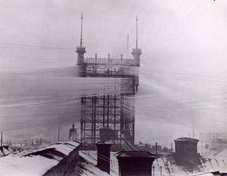 So you think telephone lines in India are bad? This is Stockholm around 1890. : UrbanHell