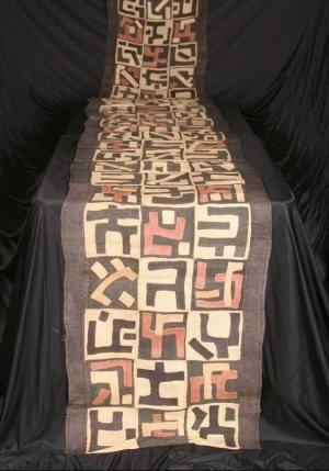 Toka tribe Kuba Cloth