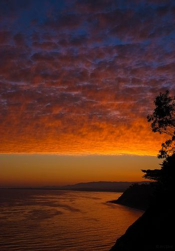 Sunset Clouds  - Santa Barbara, California