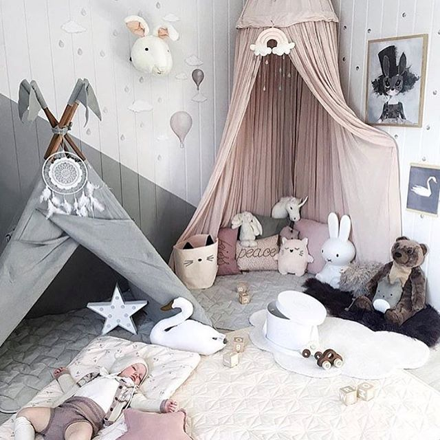 There's a whole lot of goodness going on in this space featuring our Liewood cot bedding, Cam Cam baby quilts and blankets, Goki wooden cars and Mrs Mighetto prints. You can recreate this look now at the link in our bio.  Beautiful room via @andrealingjerde