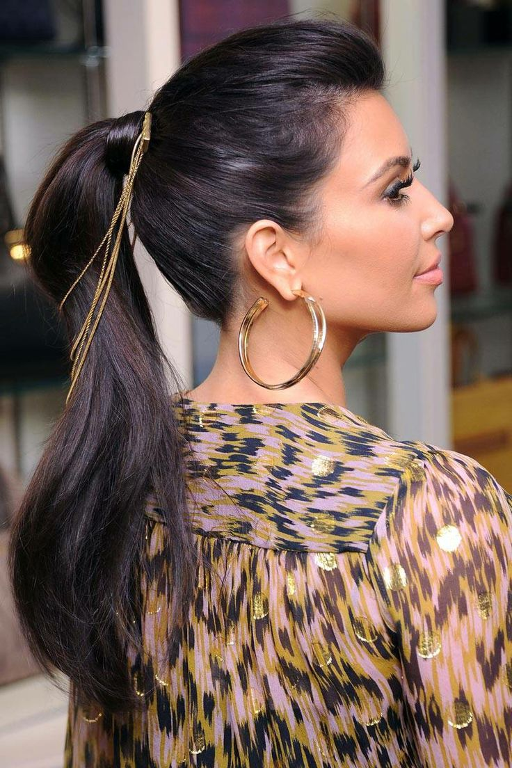 Kim Kardashian hairstyles 2 Kim Kardashian Hairstyles 2014 ...