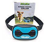 #9: MaKa Dog Barking Control Training Collar for Small & Medium Sized Dogs- Humane Safe No-Shock Anti-Bark Collar  Stop Barking With Vibration & Sound Stimuli  7 Levels Sensitivity Adjustment