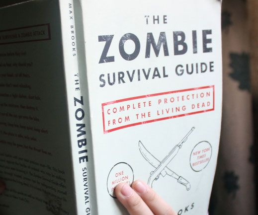 The Zombie Survival Guide - https://interwebs.store/zombie-survival-guide/ #Books+Reading