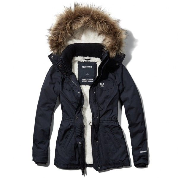 Abercrombie & Fitch Sherpa Lined Weather Warrior Jacket ($143) ❤ liked on Polyvore featuring outerwear, jackets, tops, navy, blue zipper jacket, faux shearling jacket, zip jacket, navy blue jacket and sherpa fleece jacket