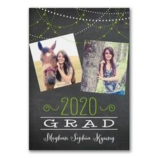 2 Sided Graduating Lights New Animal Doctor Photo Announcements Invitations. Shop where you can create lifetime memories with your personalized vet D.V.M. animal doctor graduation announcements and veterinarian school invitations for veterinary graduates at CardsShoppe.com
