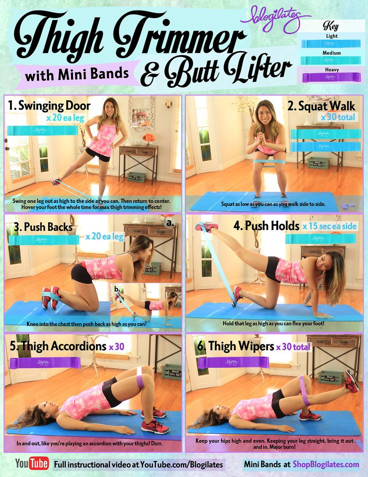 How to trim your thighs and lift your butt! You... | ❤ BLOGILATES ❤