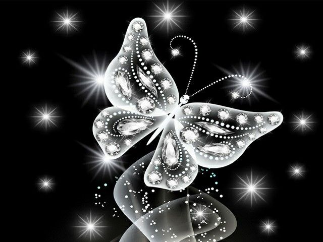 Fluture de cristal