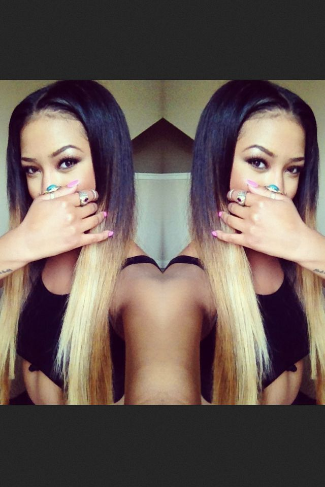 14 best ombre images on pinterest braids hair and hairstyles platinum blonde ombre pmusecretfo Image collections