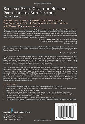 Evidence-Based Geriatric Nursing Protocols for Best Practice: Fourth Edition (SPRINGER SERIES ON GER
