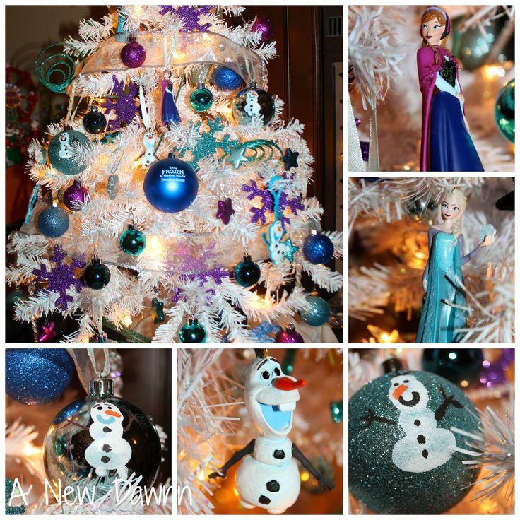 17 Best Ideas About Frozen Christmas Tree On Pinterest