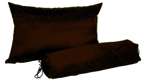 J-Life Buckwheat Hull Neck Roll Pillow - Japanese Soba Gara Makura - Cylindrical 3.5 x 14 - Espresso lou gehrig *** This is an Amazon Associate's Pin. Find out more from the website by clicking the image.
