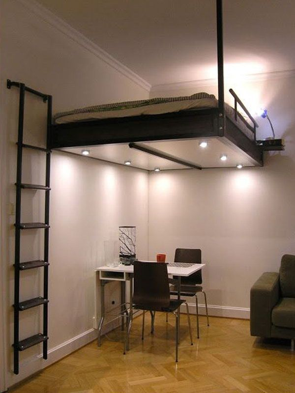 best 20+ suspended bed ideas on pinterest | homemade shelf