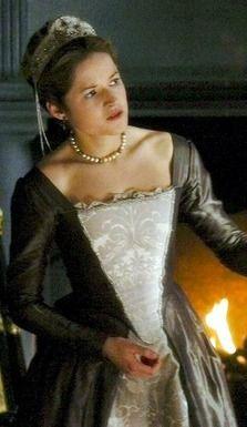 Lady Rochford, the wife of George Boleyn   Tudor costumes ...  George Boleyn Tudors