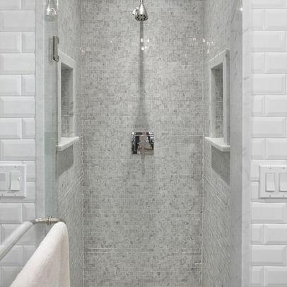Subway Tile Shower Subway Tile Showers Tiled Showers Bathroom Re Do