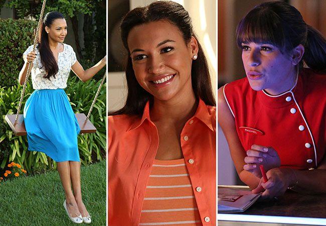 Glee Season 5 Episode 2 Spoiler Photos: Santana and Rachel's New Careers!
