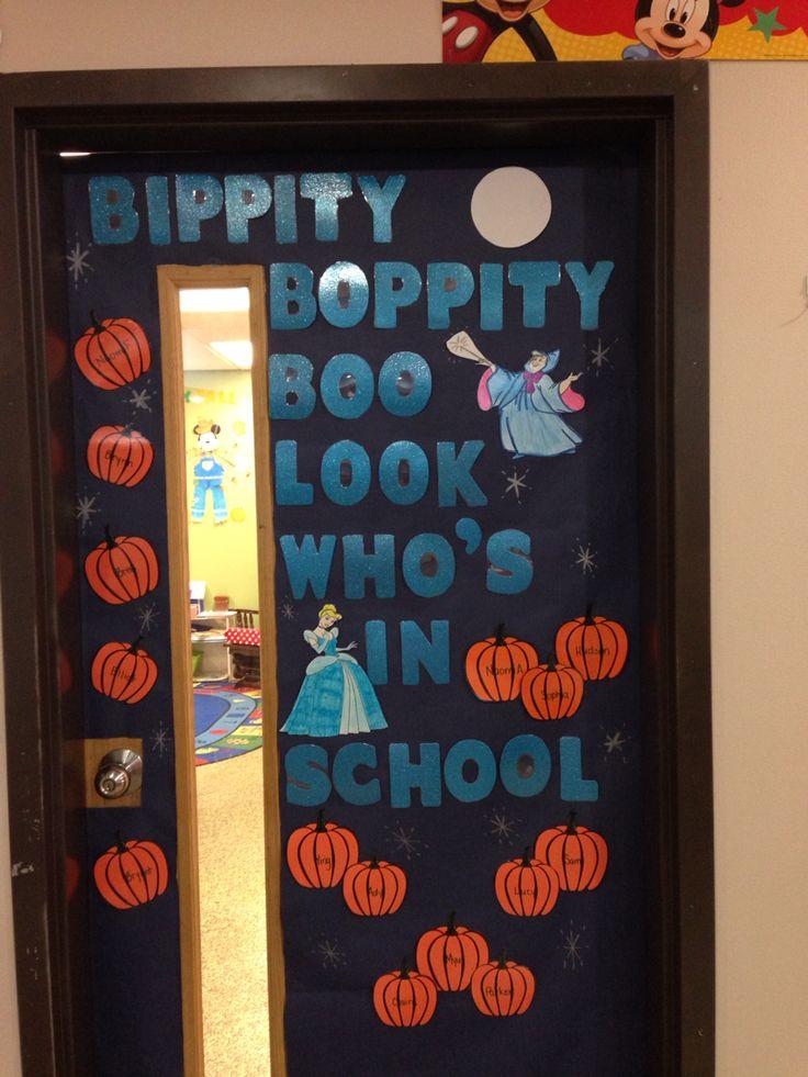 Cinderella Fall Disney Bulletin Board Kindergarten