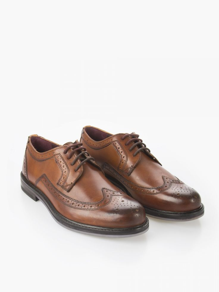 Ted Baker Tan Luxury Lace Brogue