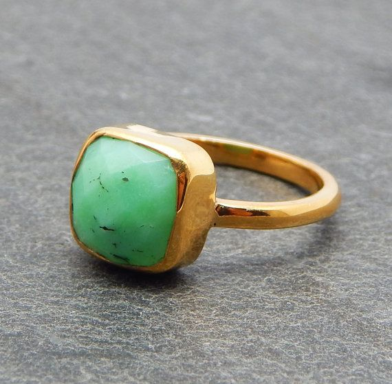 Really Cool Design I Love This Chrysoprase by darlingpiece on Etsy